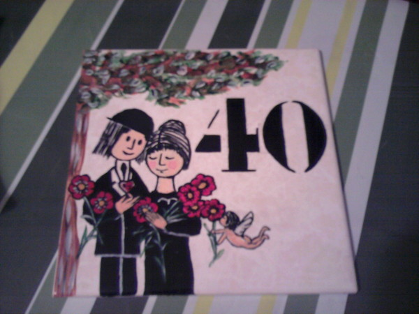Plaque faience numero de maison for Numero de porte en faience